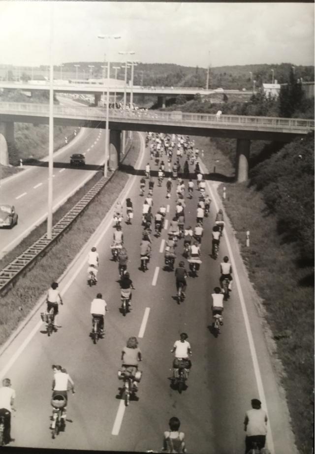 Fahrrad Tour 1981